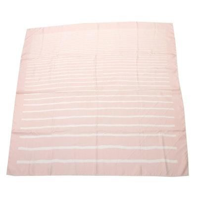 Hermès Paris Patterned Silk Scarf