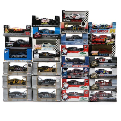 Action Racing Collectibles and Motorsports Authentics Diecast Cars, 1:64 Scale