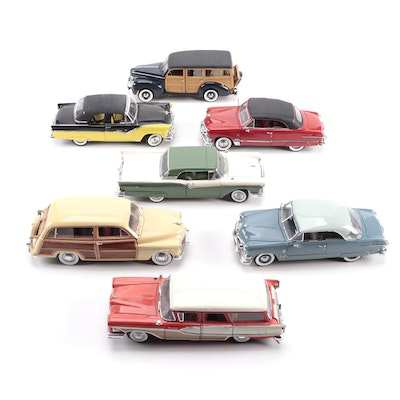 Limited Edition 1951 Ford Victoria and Other Model Cars