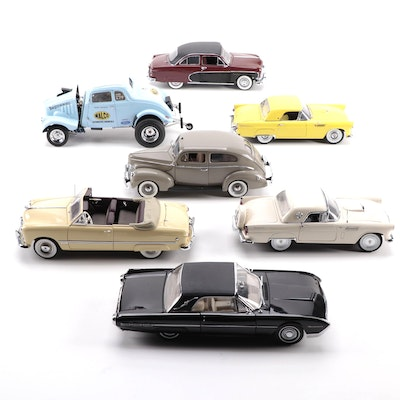 Limited Edition 1955 Ford Thunderbird and Other Model Cars