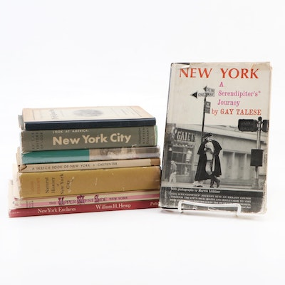 "First Edition ""New York: A Serendipiter's Journey"" with More Books on New York"