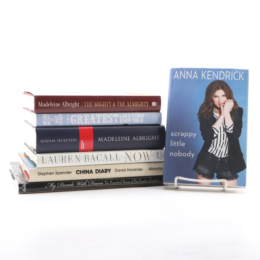 Biographies of Women Including Signed and First Editions, 1994–2018