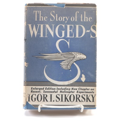 """Signed Sixth Printing """"The Story of the Winged-S"""" by Igor Sikorsky, 1943"""