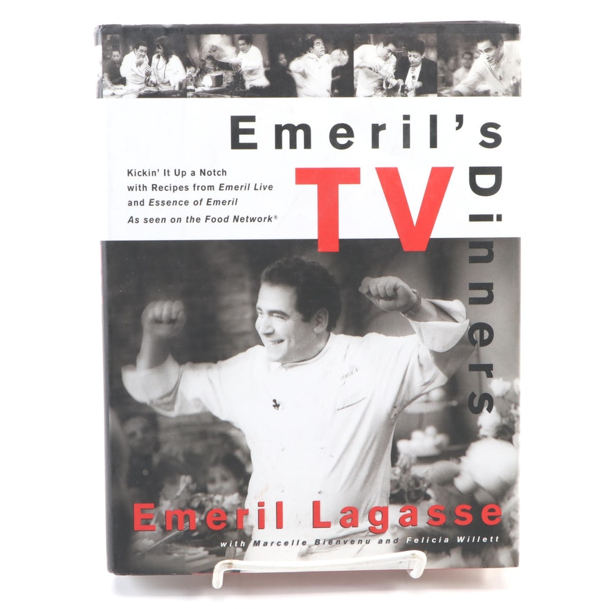 "Later Printing Signed ""Emeril's TV Dinners"" by Emeril Lagasse, 1998"