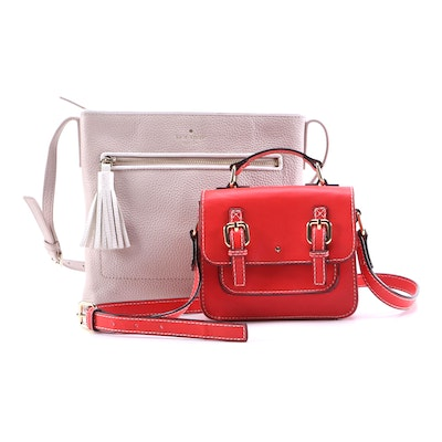 Kate Spade Brand Chester Street Dessi and Satchel Crossbody Bags