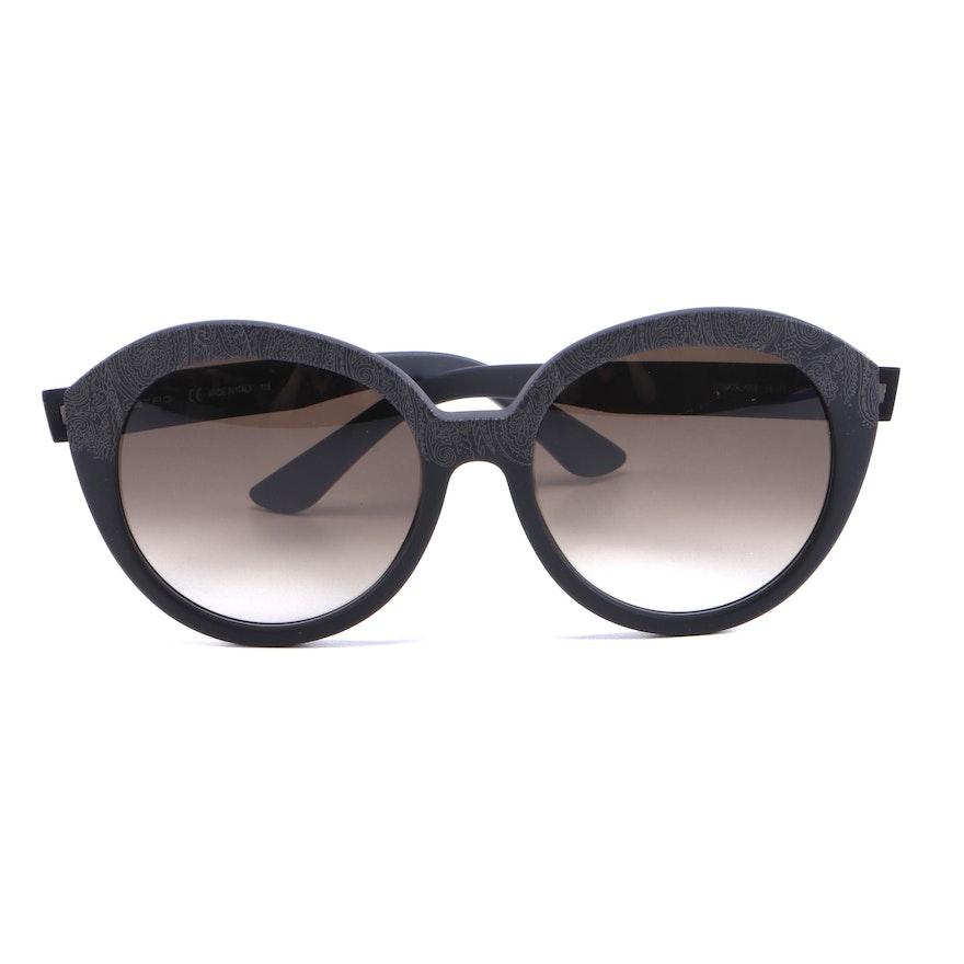 ETRO ET620S Matte Black Paisley Sunglasses with Case