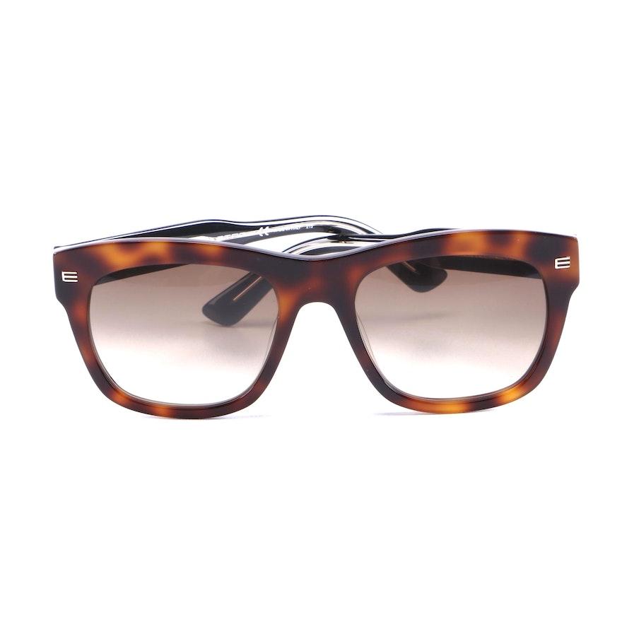 ETRO ET605S Havana Sunglasses with Case