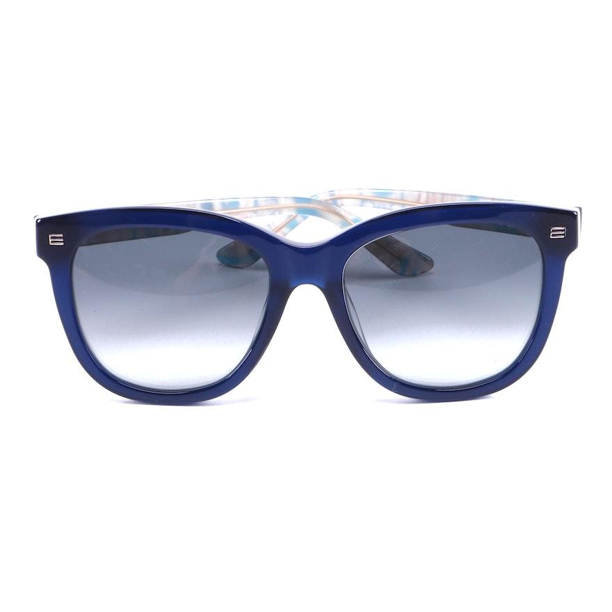 ETRO ET622S Navy Blue Sunglasses with Case