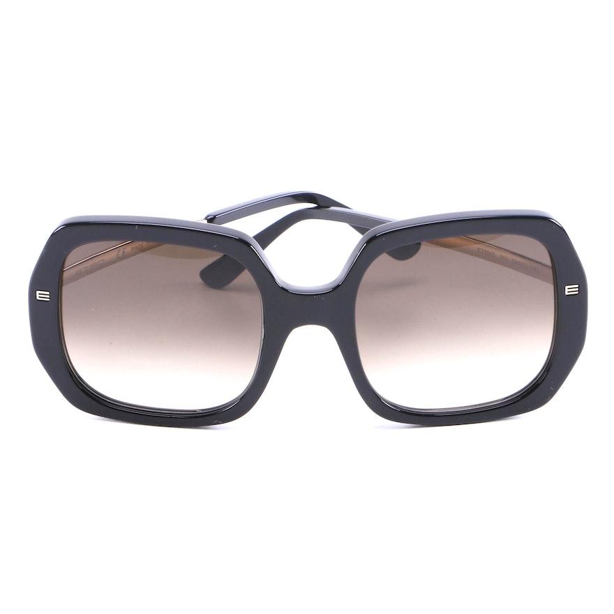 ETRO ET634S Black Full Frame Sunglasses with Case