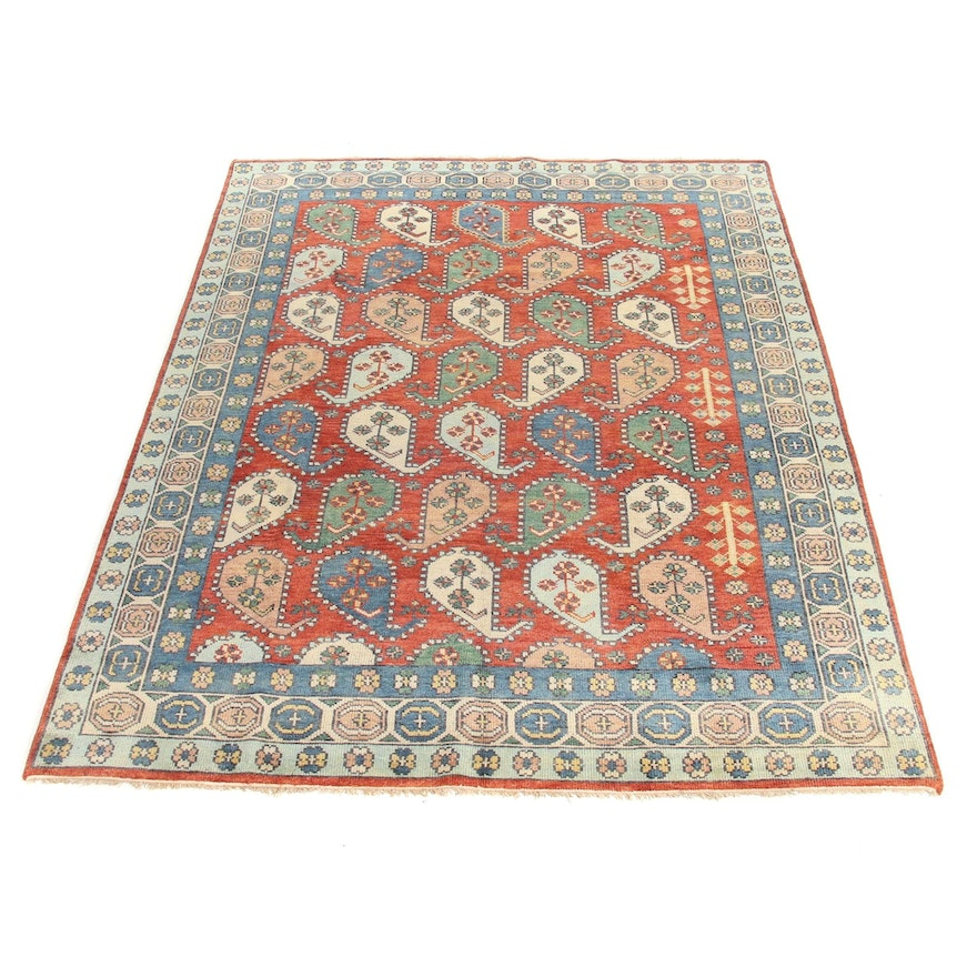 8'9 x 11'10 Hand-Knotted Indo Persian Tabriz Rug, 2010s