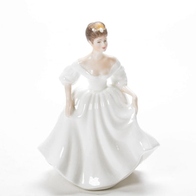 "Royal Doulton ""Angela"" Porcelain Figurine"