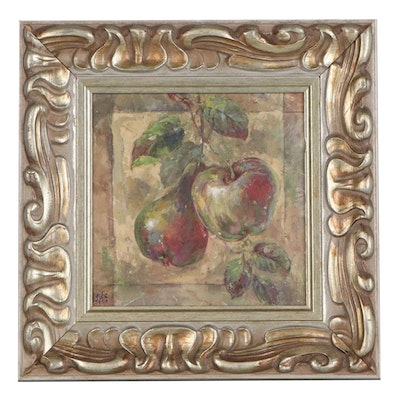 Offset Lithograph of Apple and Pear, Late 20th Century