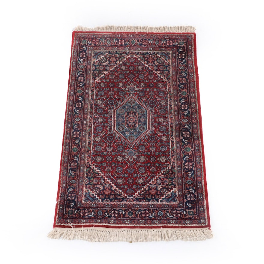 3'0 x 5'10 Hand-Knotted Persian Ardabil Wool Rug