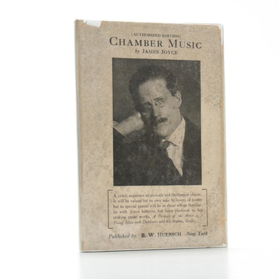 """Chamber Music"" by James Joyce, 1918 American Edition"
