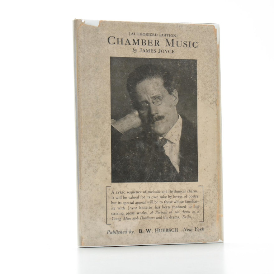 """""""Chamber Music"""" by James Joyce, 1918 American Edition"""