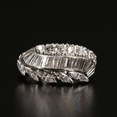 Vintage 1.21 CTW Diamond Ring