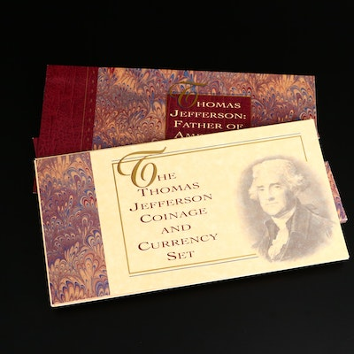 Thomas Jefferson Commemorative Coin and Currency Set