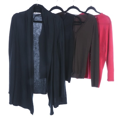 T by Alexander Wang, Magaschoni, Rivamonti and Other Knit Sweaters and Tops