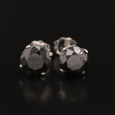18K Martini Set 4.53 CTW Diamond Stud Earrings