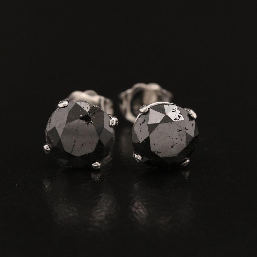 18K Martini Set 4.53 CTW Diamond Stud Earrings