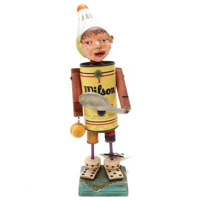 "Lisa Rupp ""Funkie Junkie Friends"" Mixed Media Figurine"