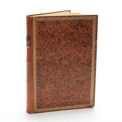 """Facsimile Of 1654 """"M.Z. Topographia Helvetiae, Rhaetiae, Et Valesiae,"""" Vintage"""