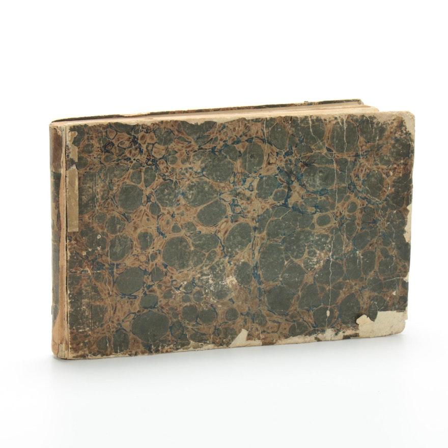 """Plate Volume of """"Cours d'Architecture Qui Comprend Les Ordres de Vignole,""""  1720"""