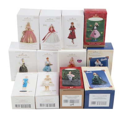 40th Anniversary Barbie and Other Keepsake Barbie Ornaments