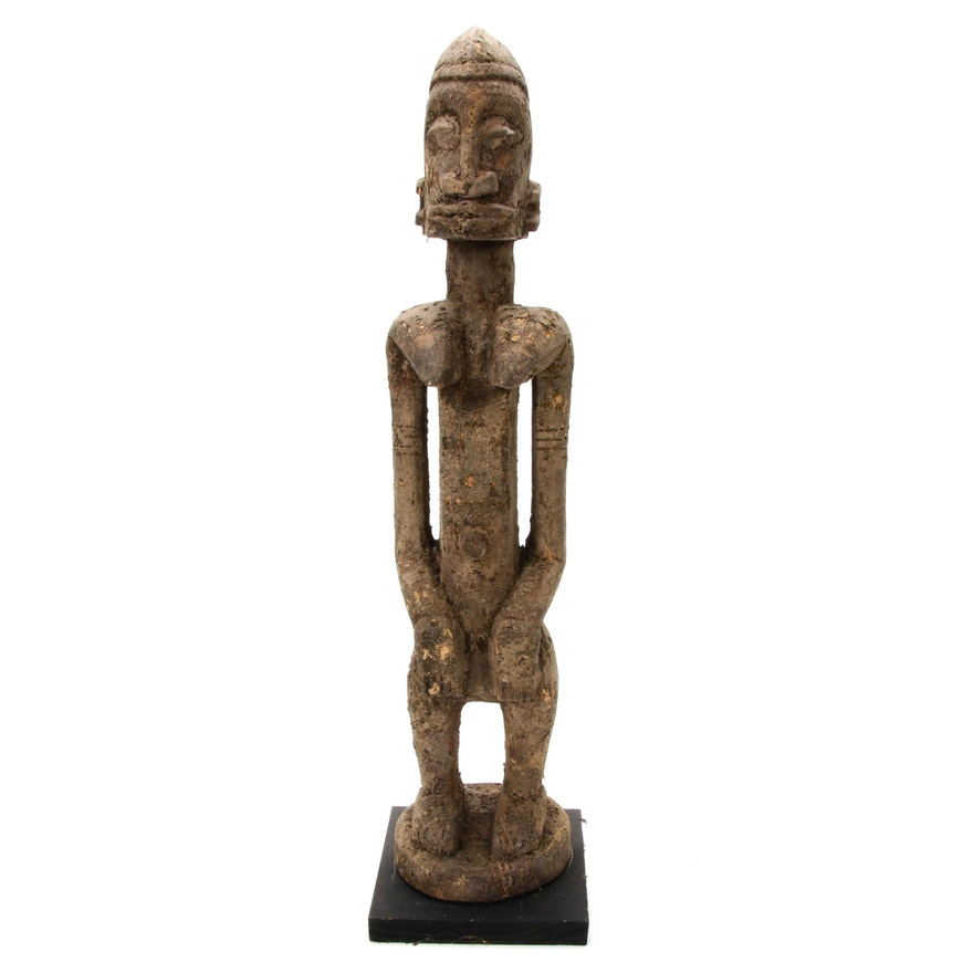 Dogon Hand-Carved Wood Maternity Figure, Mali