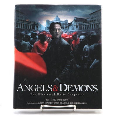 "Signed First Edition ""Angels & Demons: Illustrated Movie Companion"" by Dan Brown"