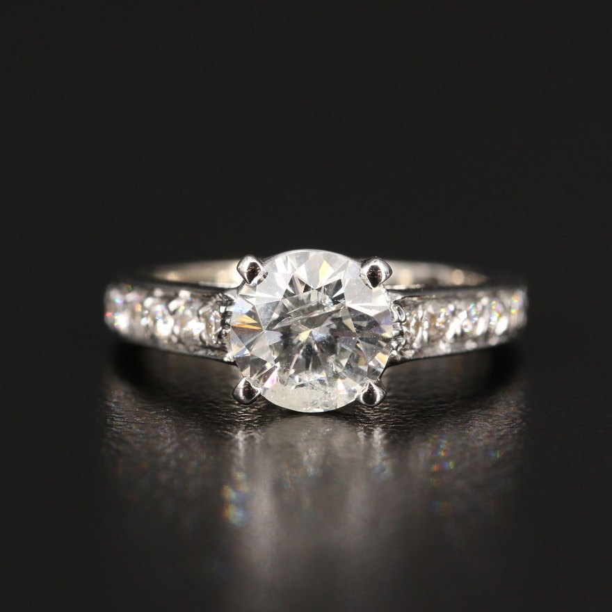 14K 1.52 CTW Diamond Ring