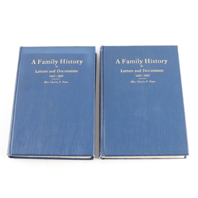 "Signed Limited Edition ""Family History in Letters and Documents"", 1919"