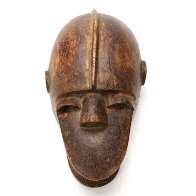 """Bamana """"Ngon"""" Hand-Carved Wood Monkey Mask, Mali"""