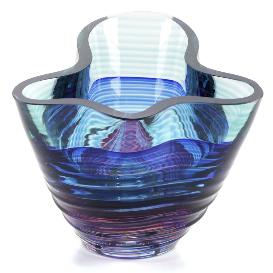 Blake Street Art Glass Bowl, 1995