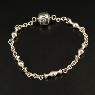 Pandora Sterling Station Bracelet