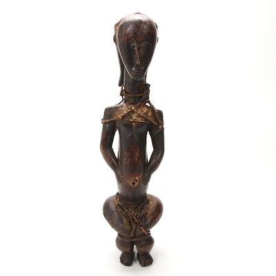 Fang Style Guardian Figure, Central Africa