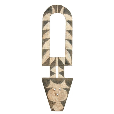 Nafana Bedu Zoomorphic Plank Mask, West Africa
