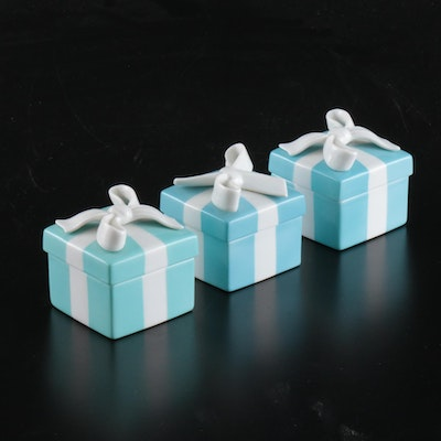 Tiffany & Co. Porcelain Gift Boxes