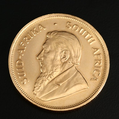 1980 South Africa Krugerrand 1oz. Bullion Gold Coin