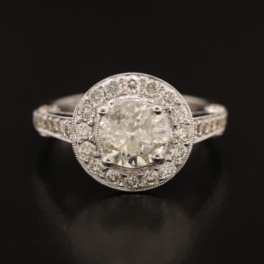 18K 2.45 CTW Diamond Ring
