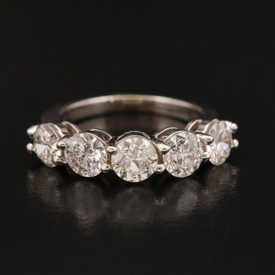 14K 2.68 CTW Diamond Band