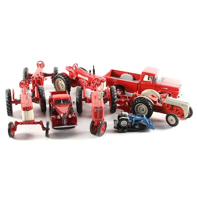 Farmall Tractors, Ford Truck, 1937 Studebaker Diecast Cars and More