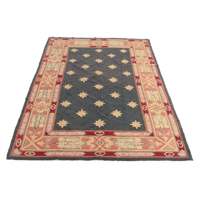 5'2 x 8' Hand-Tufted Hooked Persian Tabriz Rug, 2000s