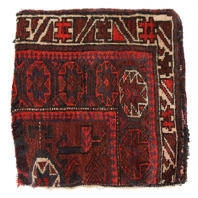 Hand-Knotted Persian Turkoman Tribal Bag, 1920s