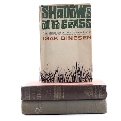 "First Edition Books by Isak Dinesen Featuring ""Out of Africa"" and More"