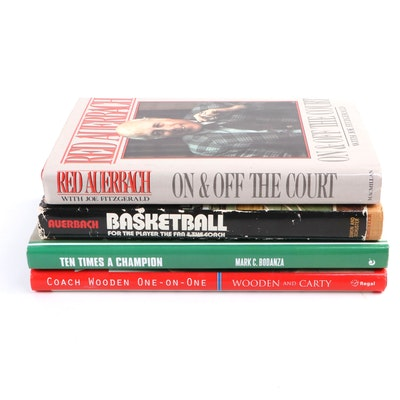 "Dual Signed ""Ten Times a Champion"" with More Signed First Editions"