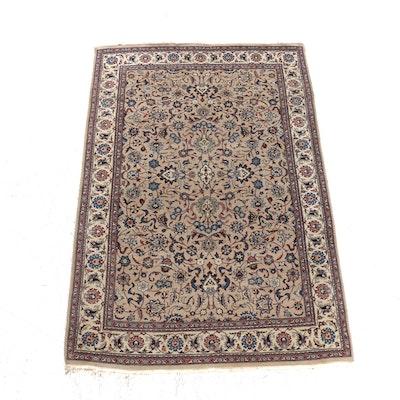 4'1 x 6'6 Hand-Woven Indo-Persian Tabriz Rug