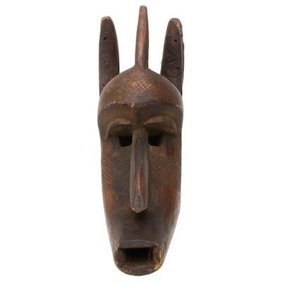 Bamana Style Hand-Carved Wood Figure, Mali