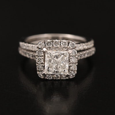 14K 1.85 CTW Diamond Ring Set
