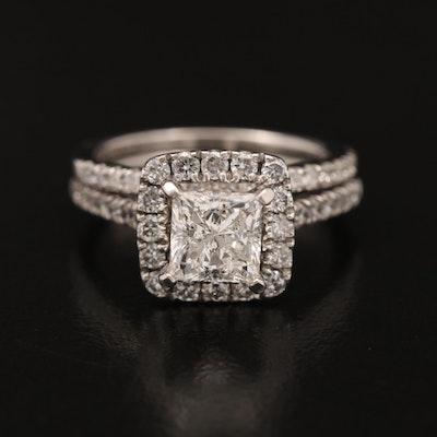 14K 1.85 CTW Diamond Ring Set